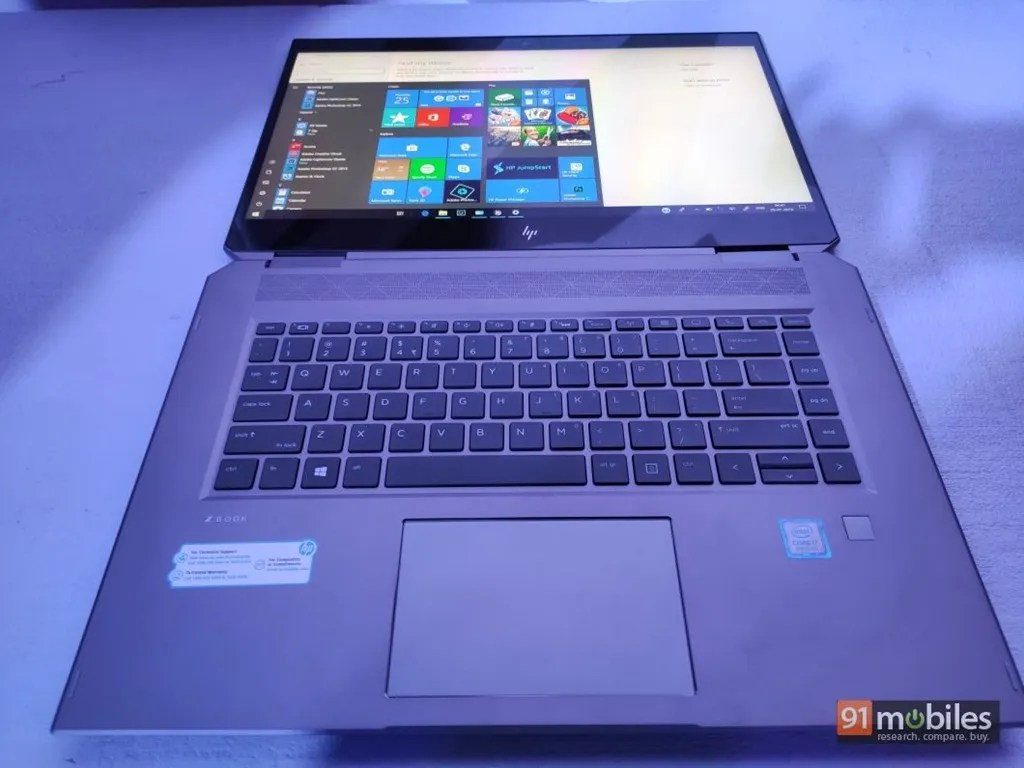 HP ZBook Studio x360 G5 first impressions: powerful and versatile   91mobiles.com