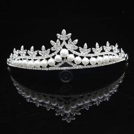 Gorgeous Silver Crystal Bridal Tiara