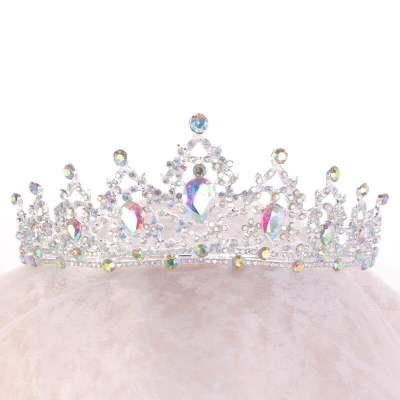 Gold Crystal Bridal Tiaras