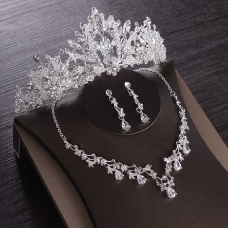 Luxury Wedding Cubic Zircon Bridal Jewelry Set