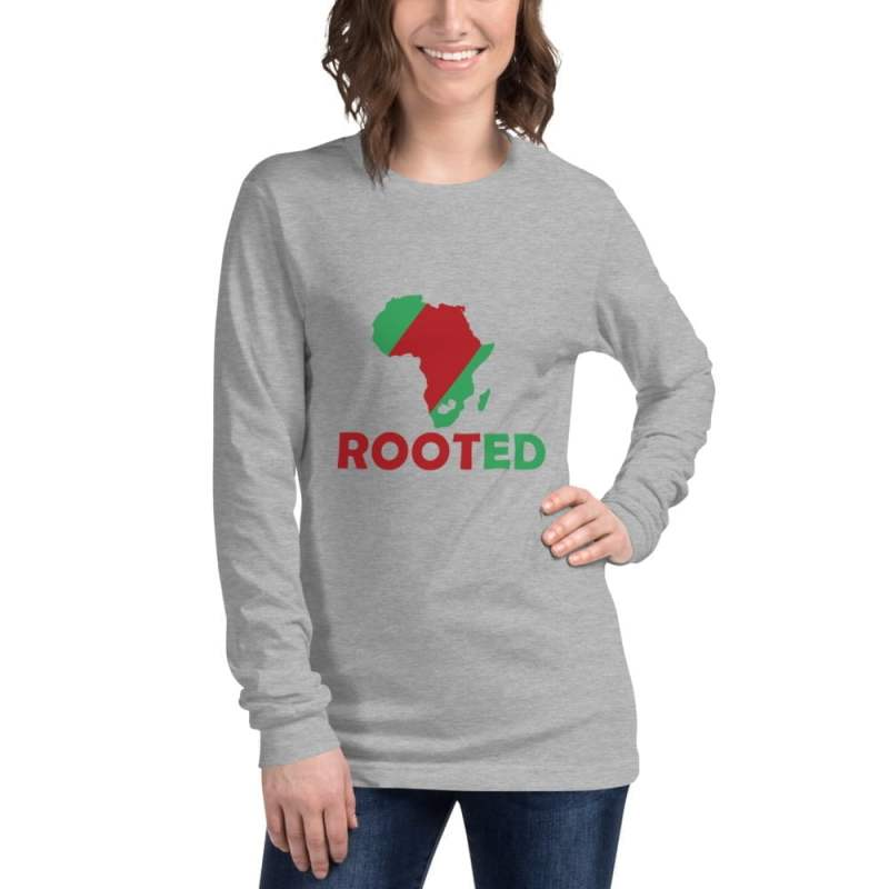 Unisex African Rooted Long Sleeve Tee