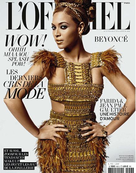 African stylist Jenke Ahmed styles Beyonce
