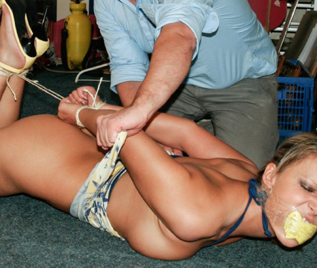 Overpowered Hogtied