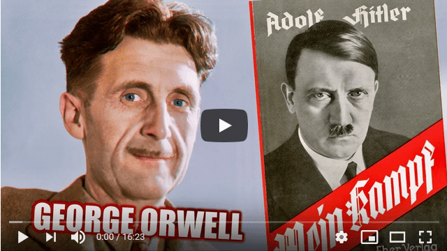 George Orwell on Hitler's Mein Kampf