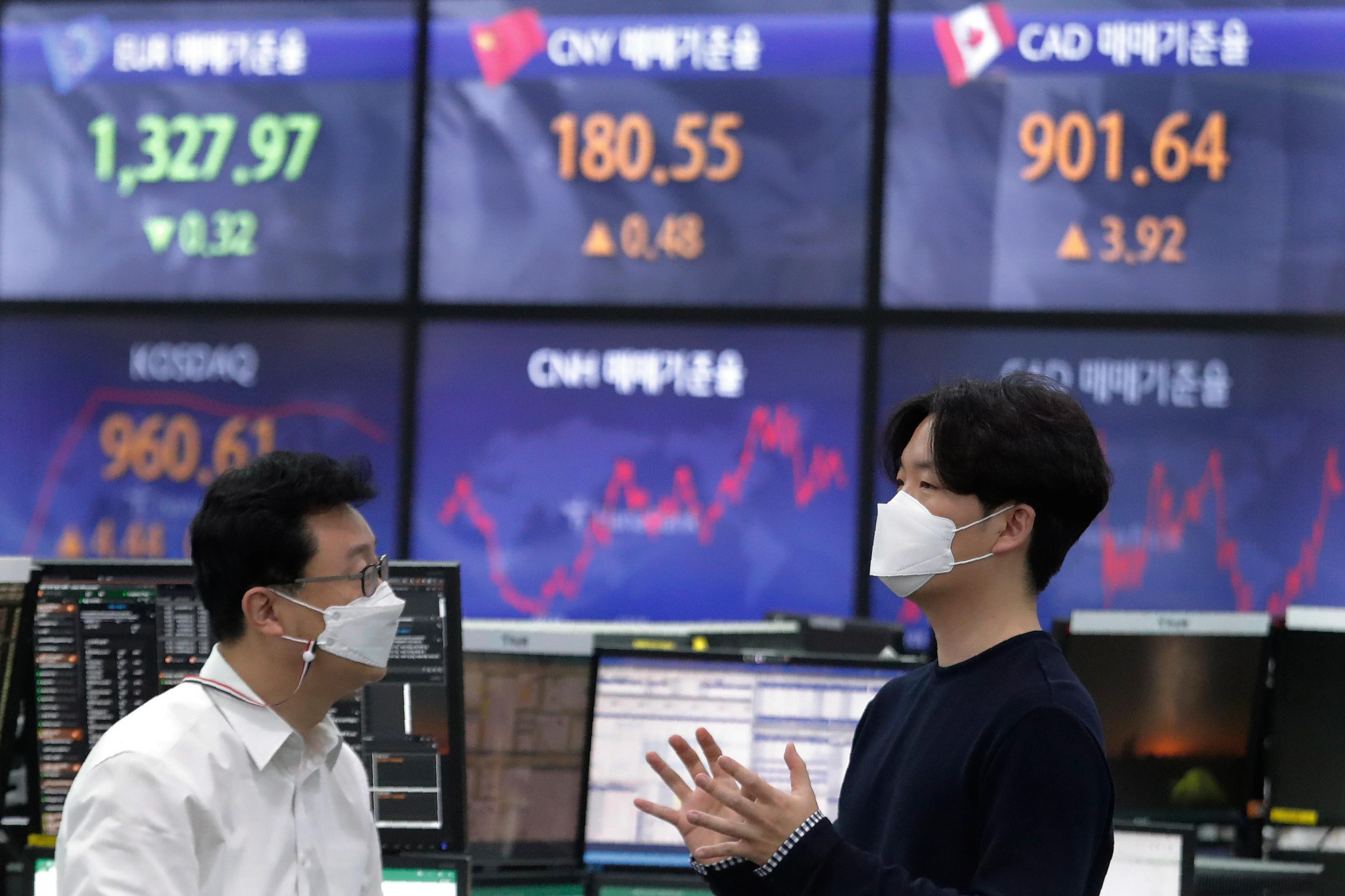 Asian stocks follow Wall St. up on strong Japan. Korea data Sydney Brent crude House prices Kospi Shanghai Composite Index   The Independent