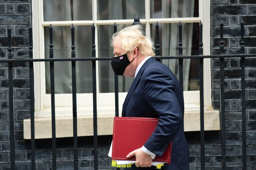 Boris Johnson admits he has only 'skeleton' of a plan to level-up as speech comes under fire 2