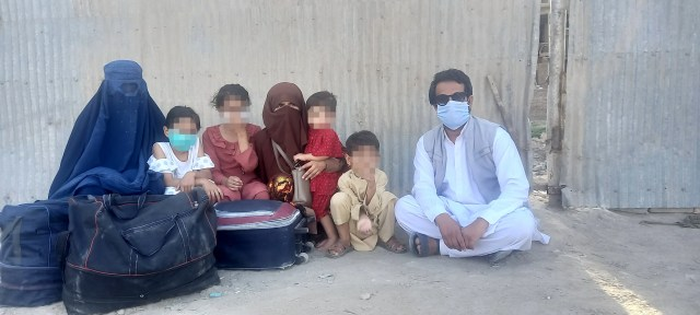 <p>One former interpreter and his family has to flee Kabul after they were unable to board an evacuation flight, and are now in hiding </p>