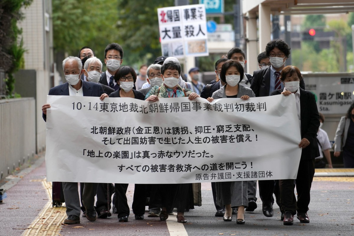 , In Japanese court, 5 ask N. Korea to pay for their suffering, The Evepost BBC News