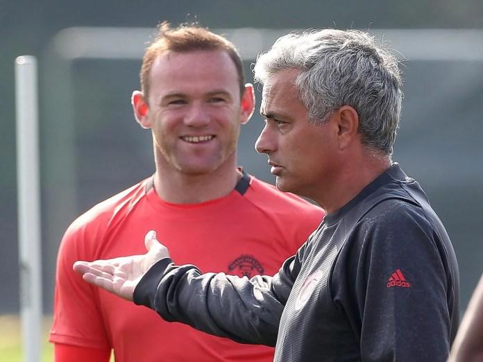Image result for mourinho + wayne rooney