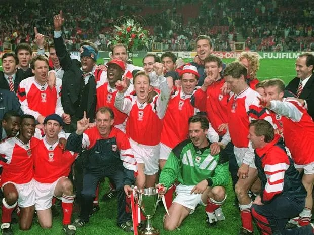 Image result for george graham arsenal team