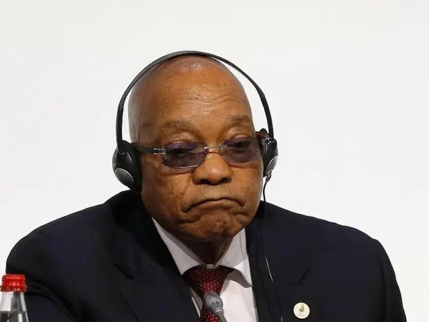 South African state broadcaster bans negative news about embattled President Zuma | The Independent