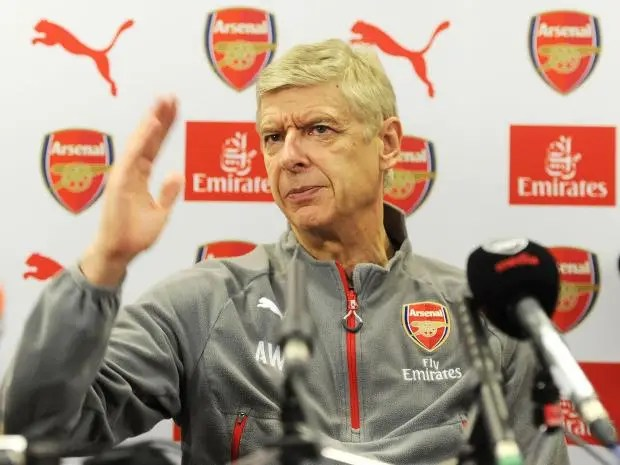 Image result for arsene wenger press conference