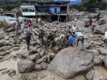 Image result for 112 people killed as landslide destroys Colombia town