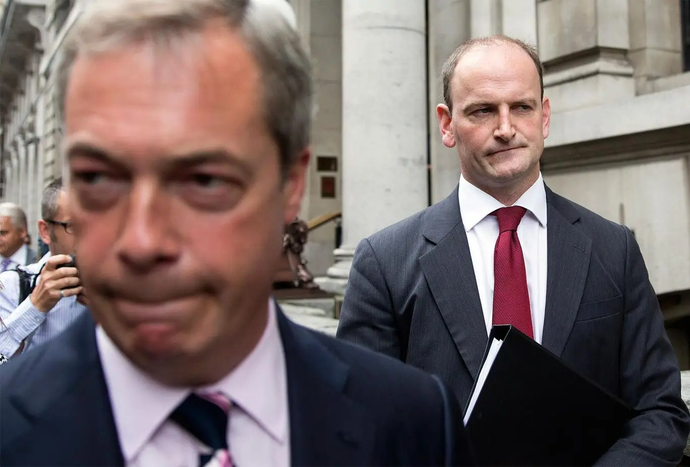 Douglas Carswell claimed Farage's comments on immigrants with HIV were 'ill-advised'