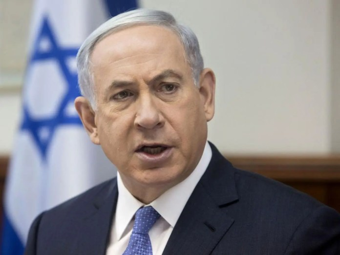 Benjamin Netanyahu has called an emergency meeting for Tuesday evening (AP)