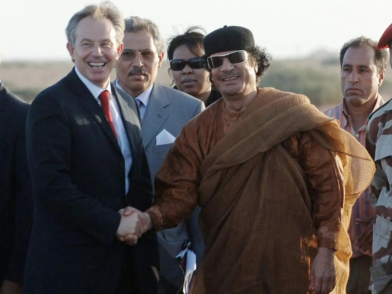 The transcript of the Blair-Gaddafi phone conversations are published