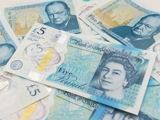 Image result for 5gbp note