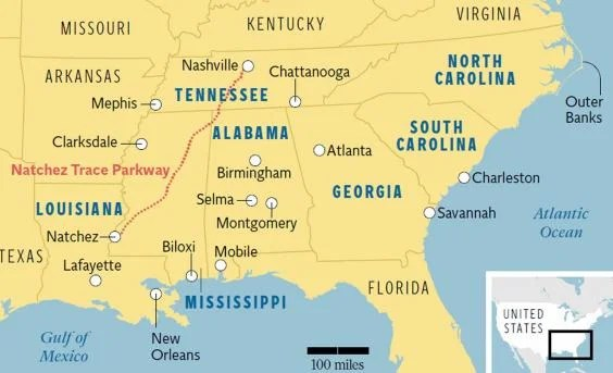 Americas Deep South Endless opportunities for a firstclass road trip  The Independent