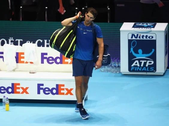 rafael nadal 3 - Rafael Nadal withdraws from ATP Finals due to a knee injury