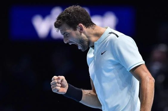 gettyimages 876303014 - Grigor Dimitrov beats David Goffin in three sets to secure first ATP World Tour Finals title
