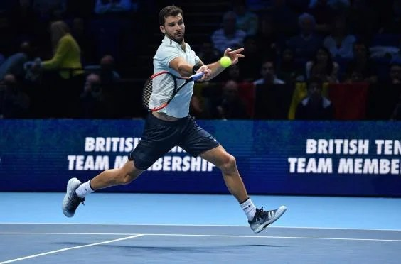 gettyimages 876324890 - Grigor Dimitrov beats David Goffin in three sets to secure first ATP World Tour Finals title