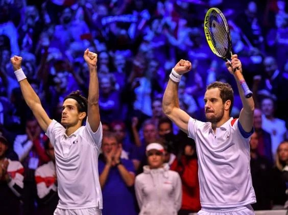 france vs belgium davis cup 2 - Davis Cup: France claim doubles to move within one win of 2017 title