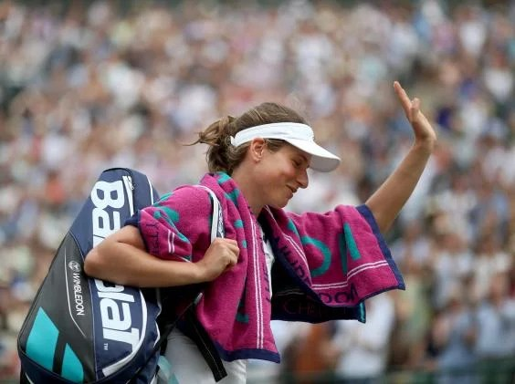 konta wimbledon - Home is where the heart is for Johanna Konta as British No 1 works hard for the start of the new season