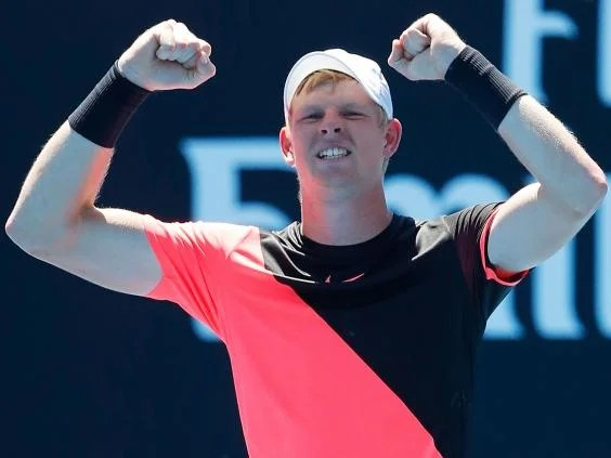 kyle edmund5 - Australian Open 2018: Kyle Edmund digs deep to beat Nikoloz Basilashvili and reach fourth round for the first time