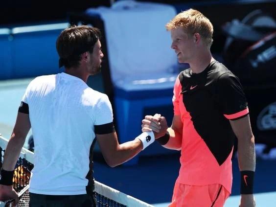 kyle edmund7 - Australian Open 2018: Kyle Edmund digs deep to beat Nikoloz Basilashvili and reach fourth round for the first time