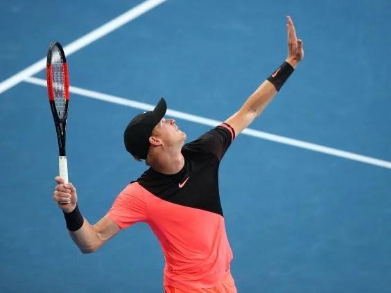 kyle edmund10 - Australian Open 2018: Kyle Edmund reaches Grand Slam quarter-finals for first time with win over Andreas Seppi