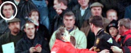 On january 25th 1995 cantona attacked crystal palace fan matthew simmons in one of the most infamous incidents in premier league history. Cantona Kung Fu Kick Witnessed By Ireland Constable The Independent The Independent