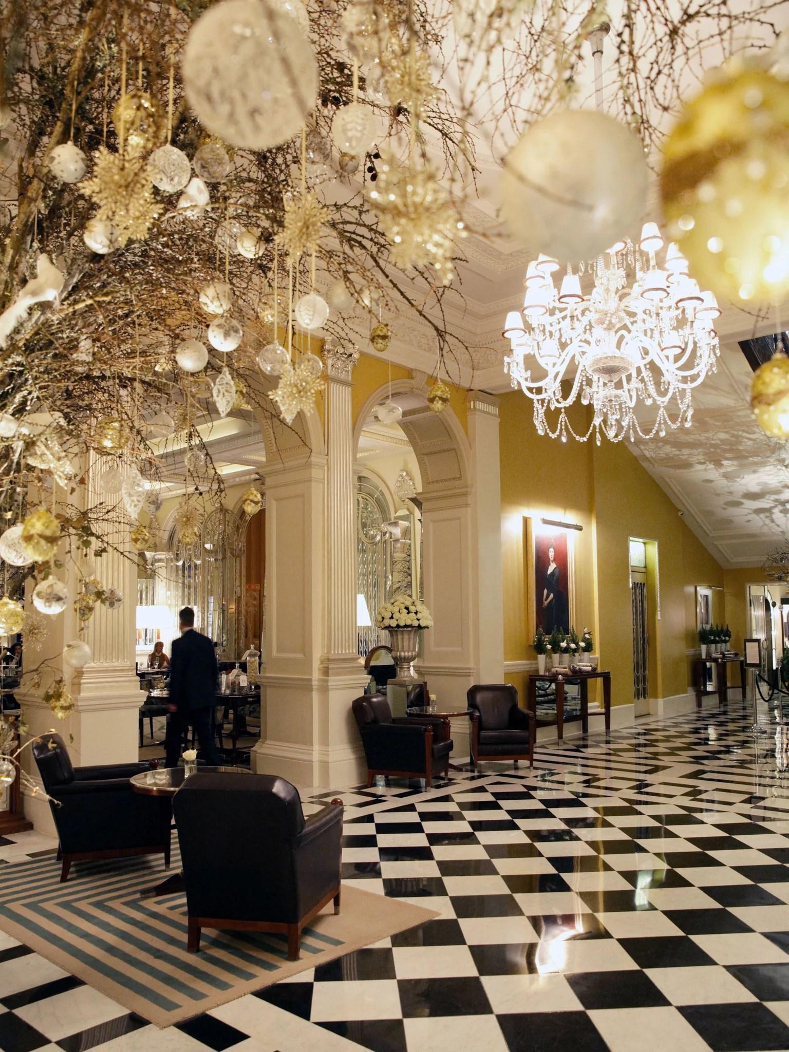 Claridges An opulent hotel where every polished corner