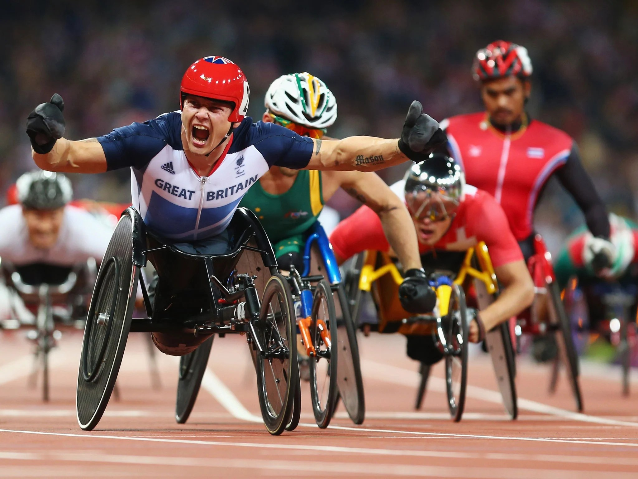 wheelchair olympics best desk chair for back legacy the paralympics changed way disability is paralympian david weir