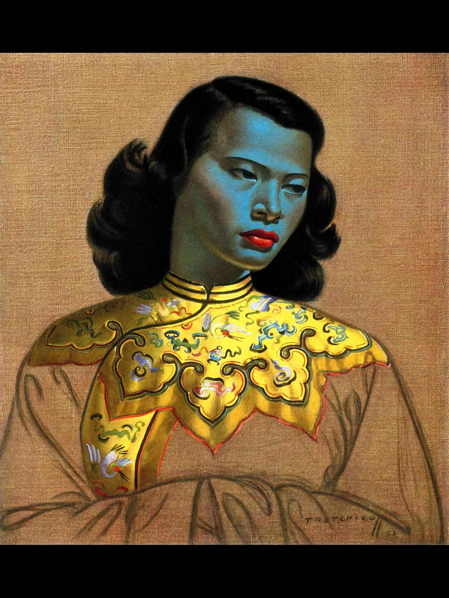 chinese girl the mona