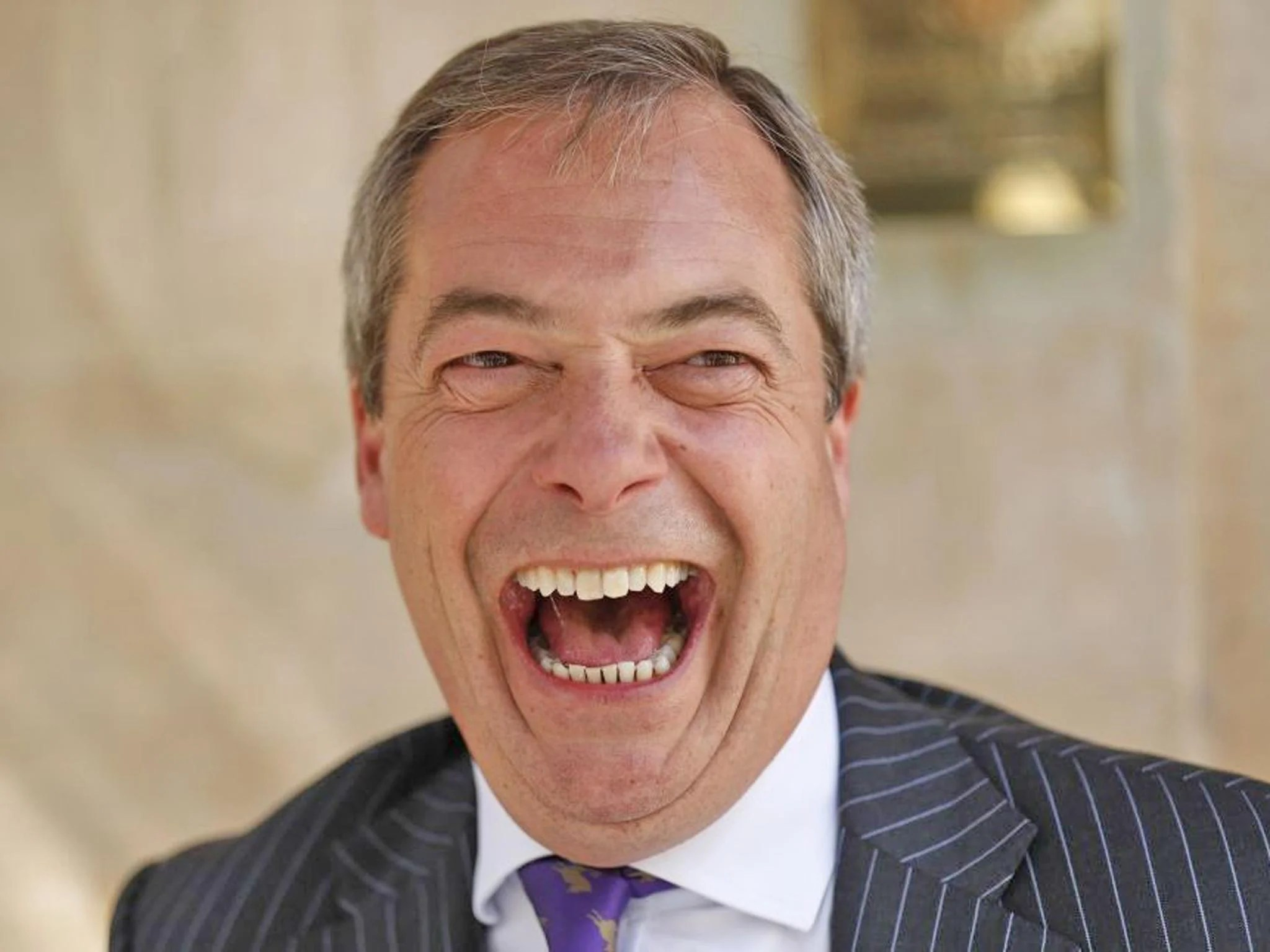 Who39s laughing now Nigel Farage forces Ukip into the