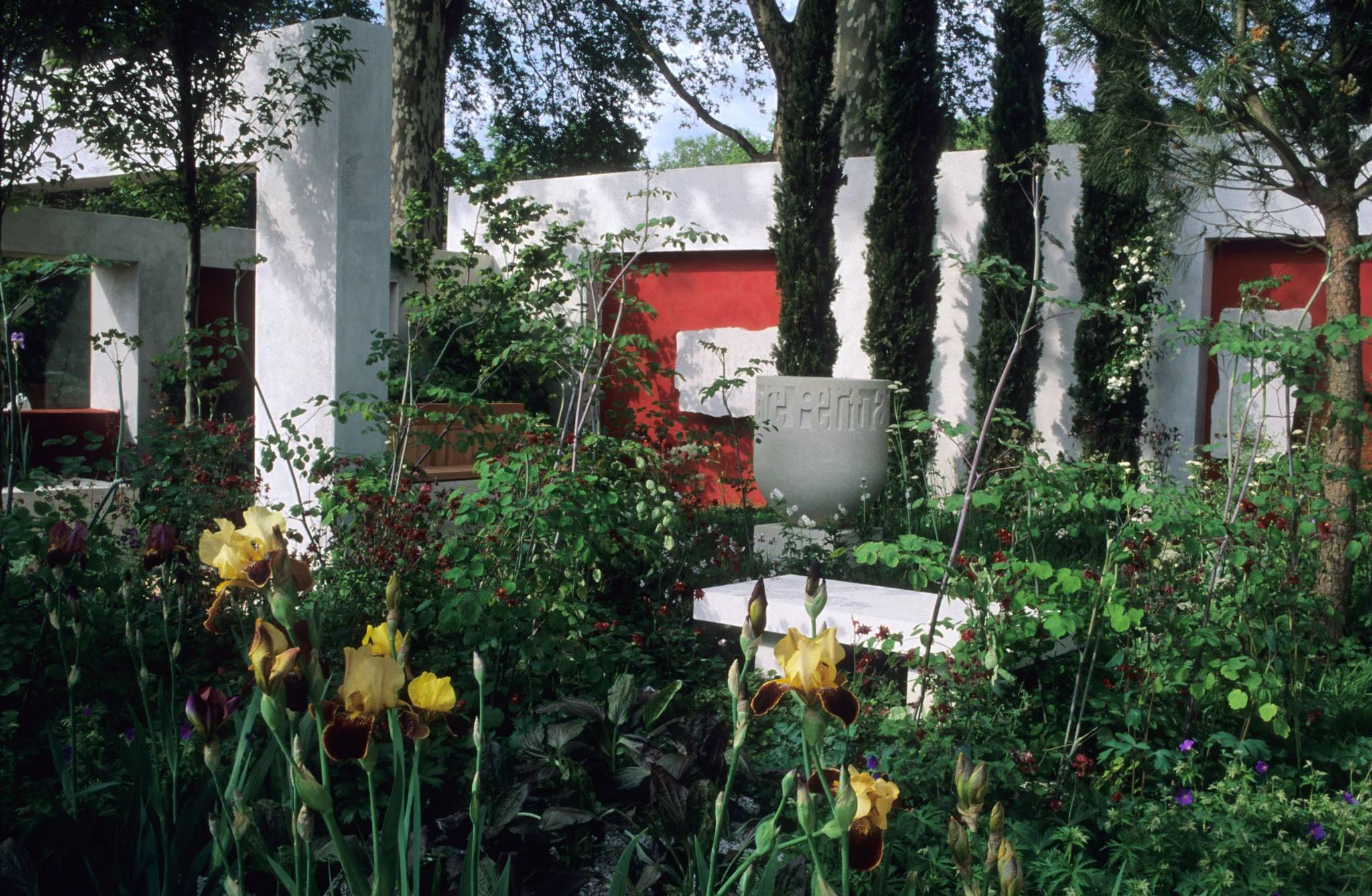 Boxes Of Delight Will One Man And His Cubes Of Yew Take Gold At The Chelsea Flower Show The Independent The Independent