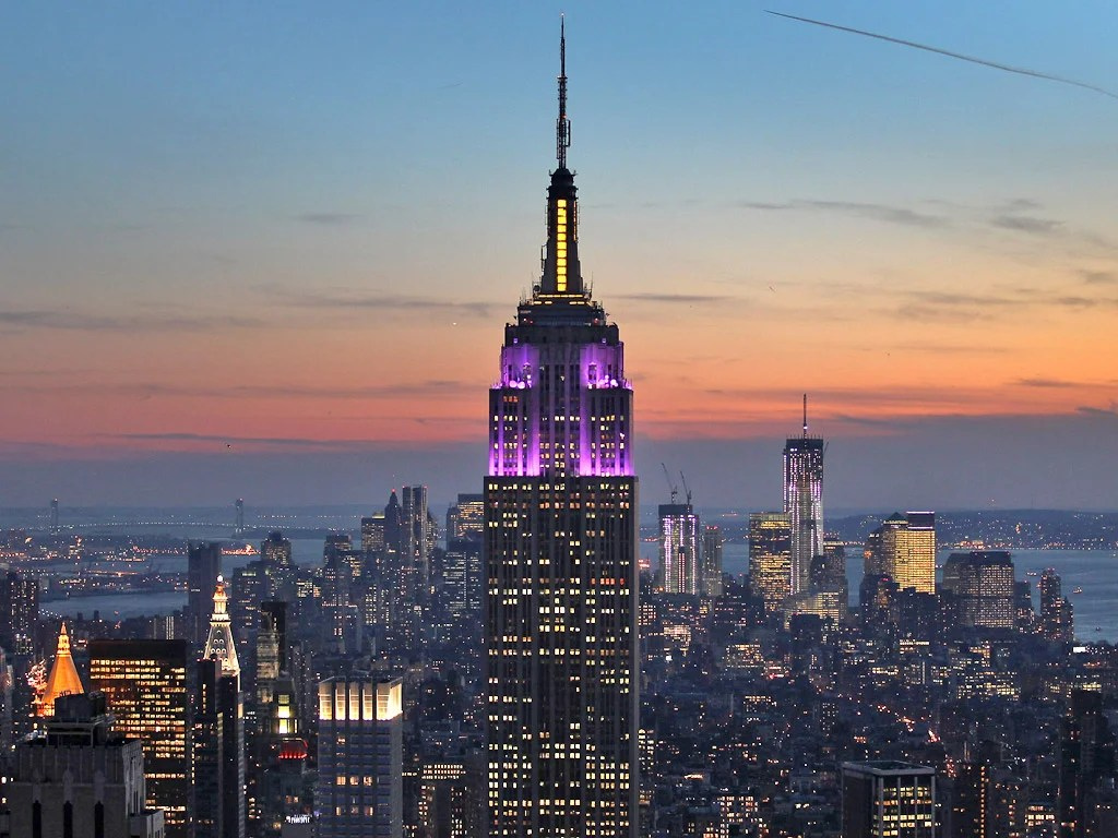 High culture in New York City: The Empire State Building - a landmark that looks like $1bn | The Independent