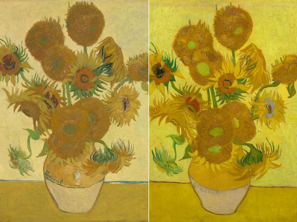 Vincent Van Gogh Sunflower Paintings