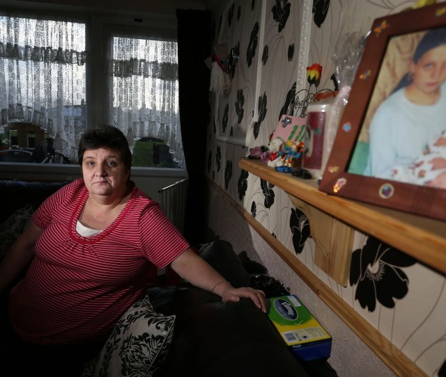 Jackie Summerford Mother Of Murdered Sex Worker Bonnie Barrett Pictured At Her Home In