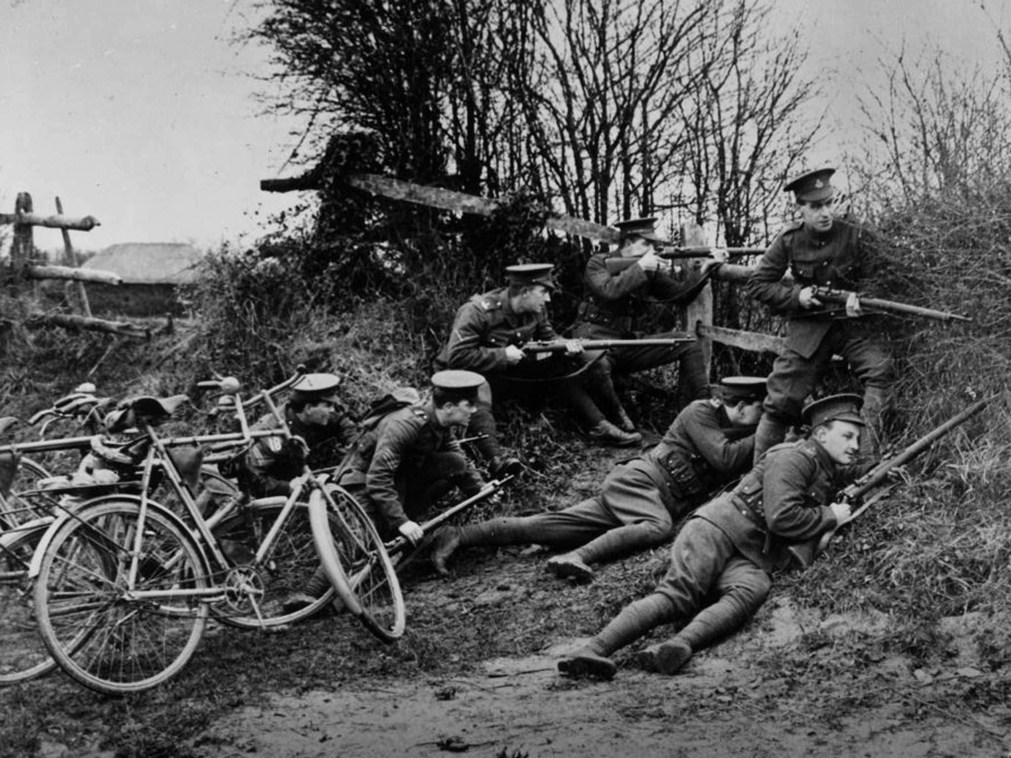 A History Of The First World War In 100 Moments The First British Fatality