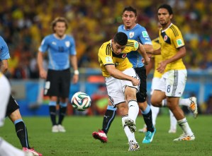 James Rodriguez vs Neymar: Who has been the bigger star at World Cup 2014 so far? | The Independent | The Independent