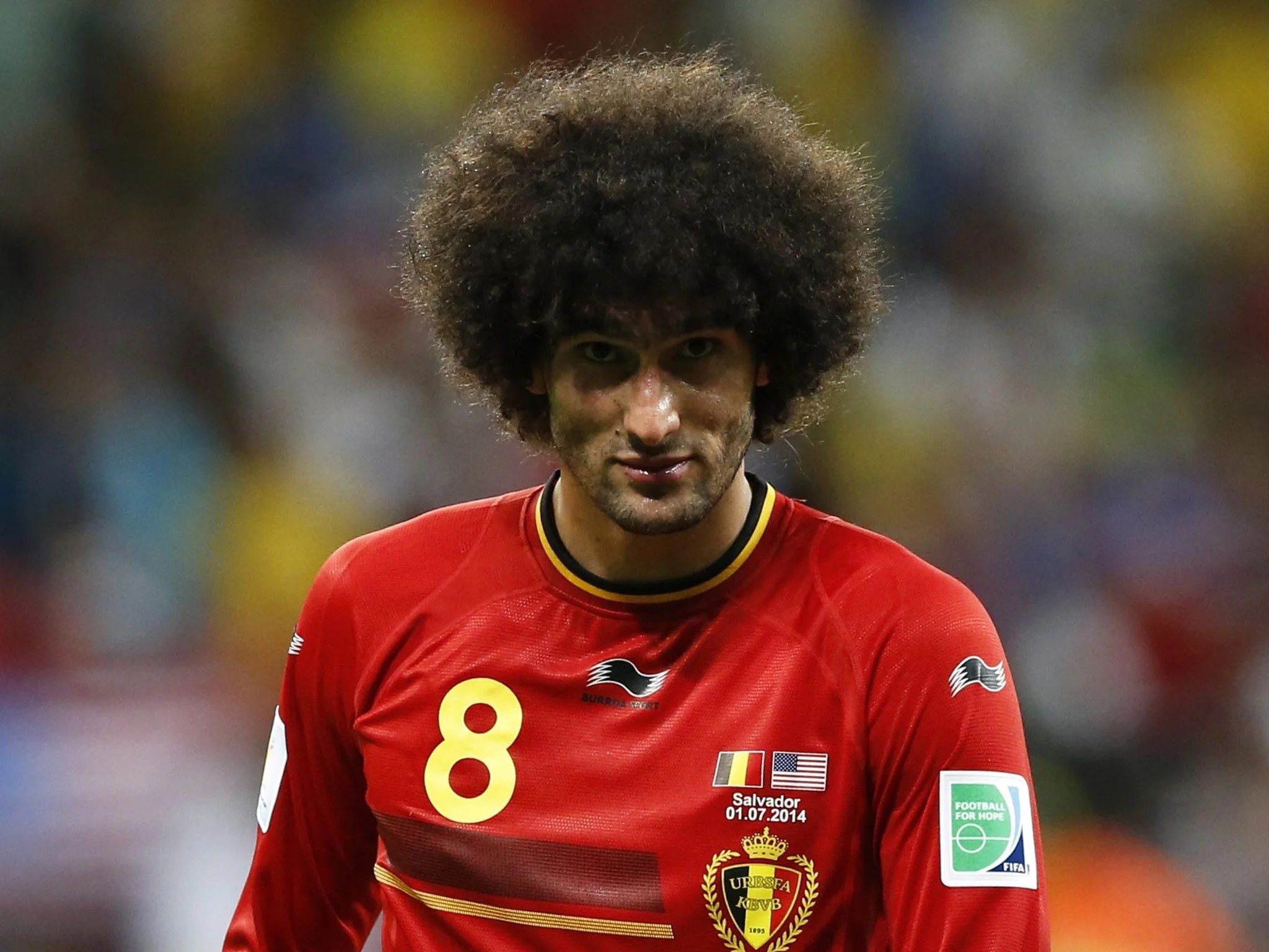 World Cup 2014: I don't need to prove a thing. insists Marouane Fellaini   The Independent   The Independent