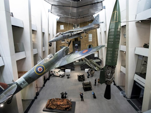 Imperial War Museum' Flagship Site Reopen Weekend Stage Of 40m