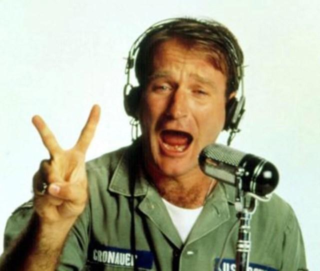 Robin Williams Stars As A Radio Dj In 1987s Good Morning Vietnam