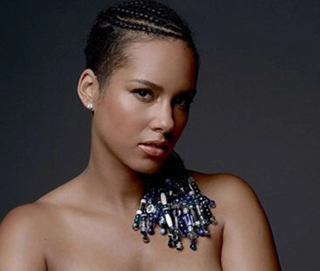 Alicia Keys Posted A Nude Image Of Herself On Instagram In Order To Raise Awareness For
