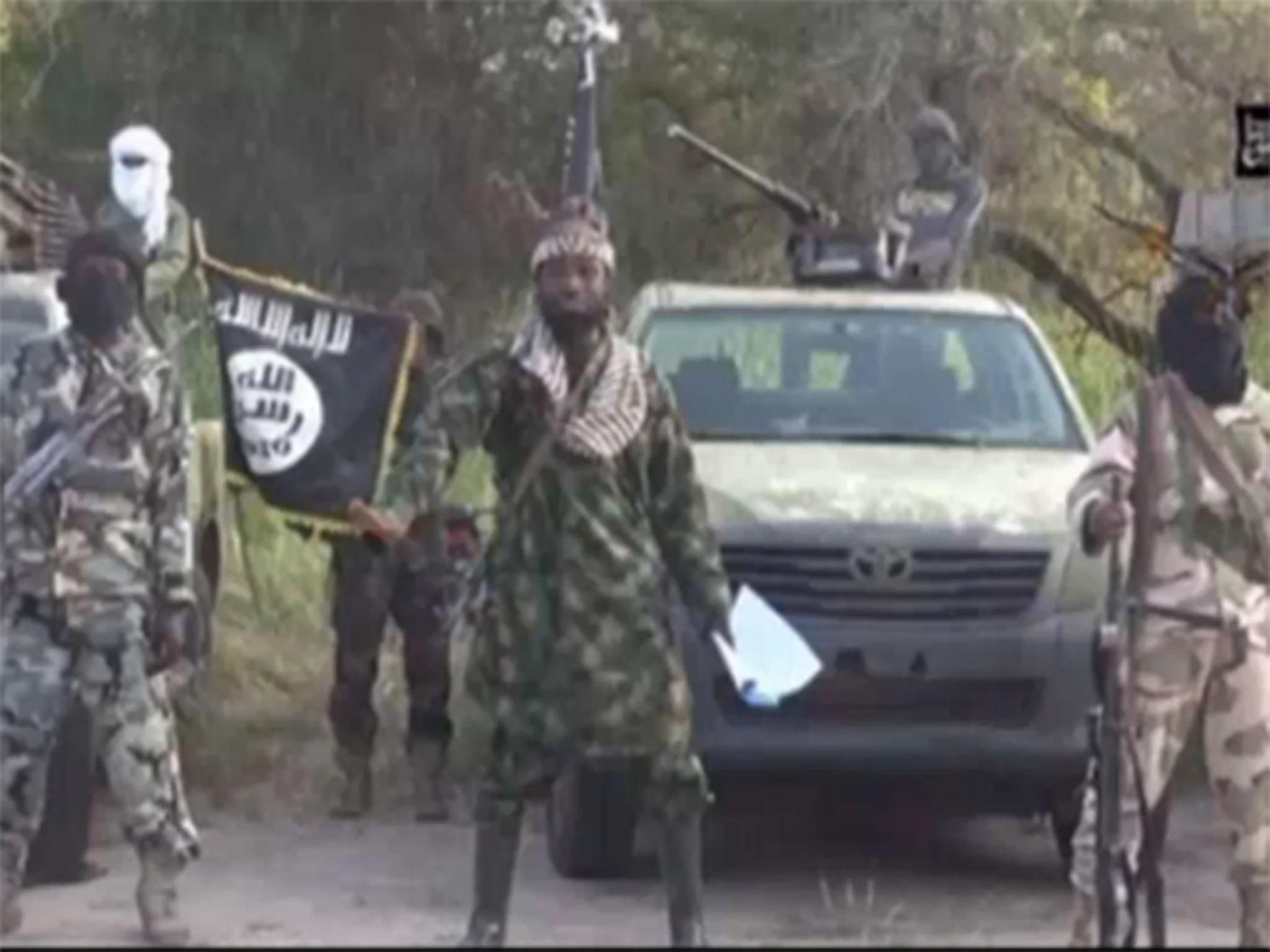 'Boko Haram leader' appears in video just a week after he was reported dead   The Independent