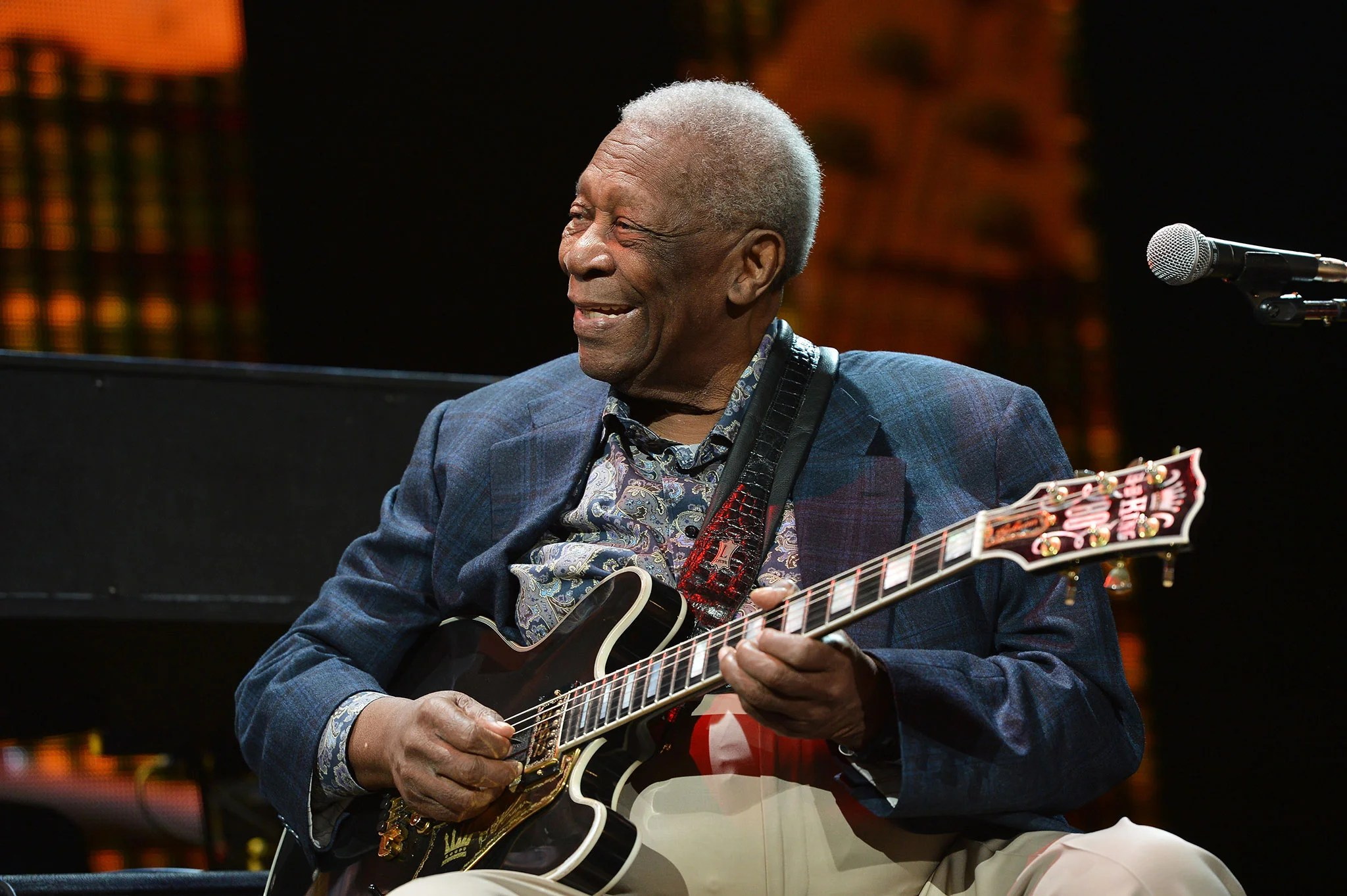 Bb King Recovering After Exhaustion Causes Blues Legend To