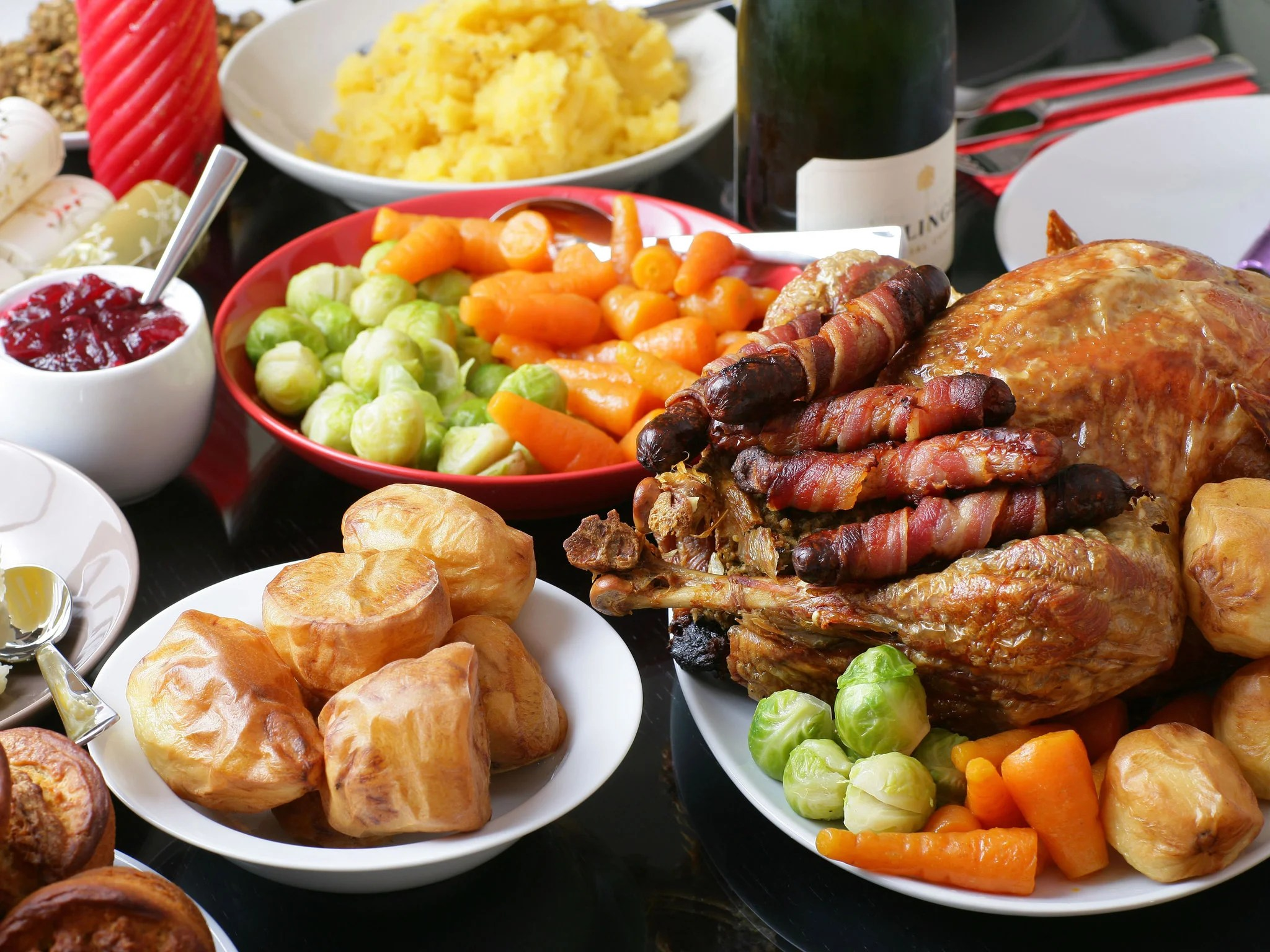 Uk S Favourite Food To Eat On Christmas Day Revealed