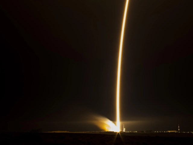 The Soyuz TMA-15M rocket launch