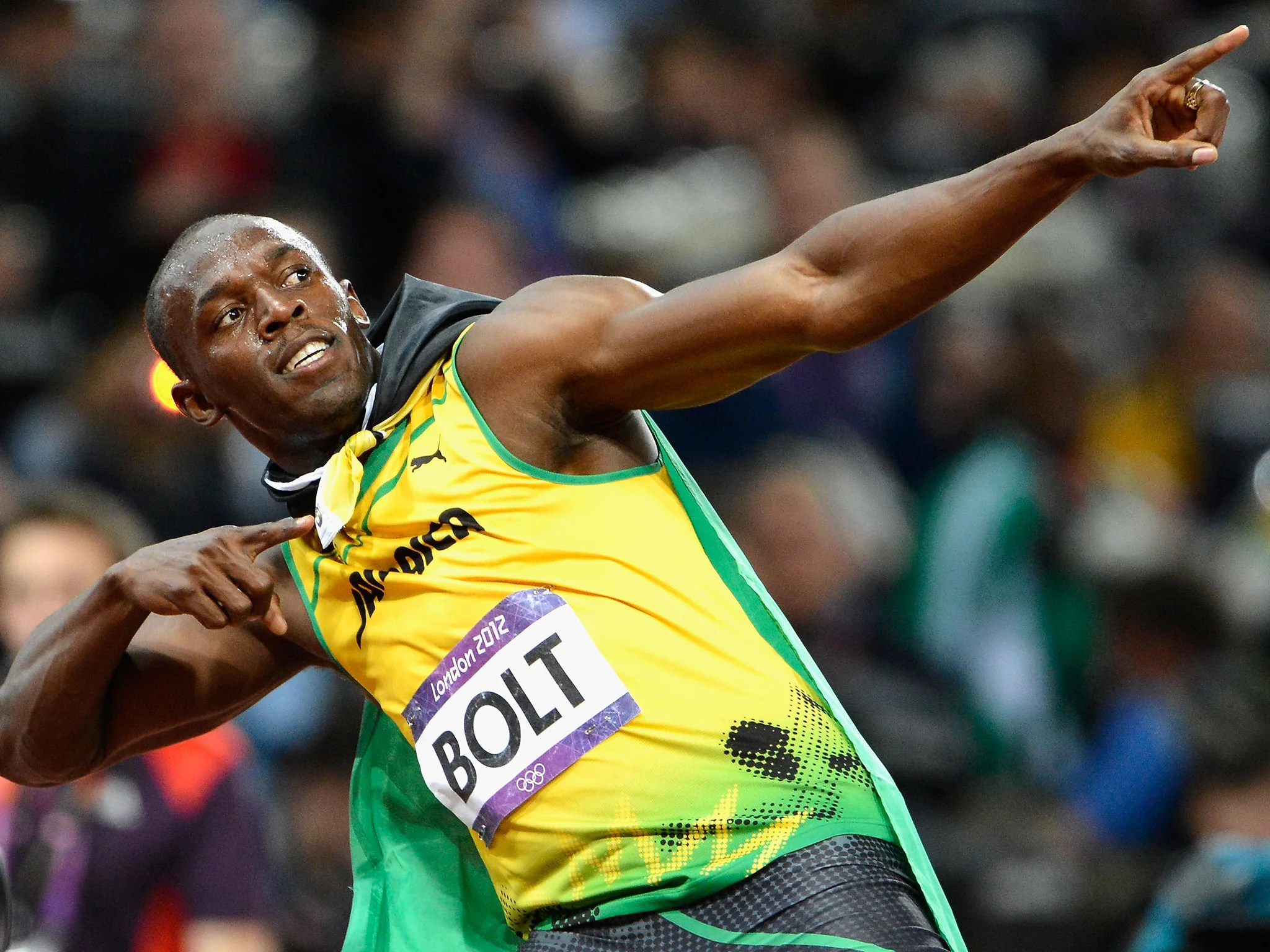 Usain Bolt is allegedly the worlds worst neighbour as